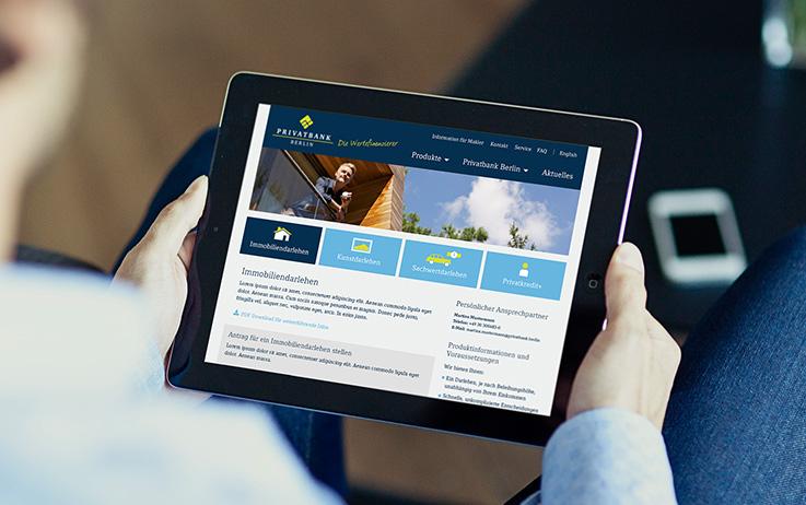 Bild für privatbank-webanwendung
