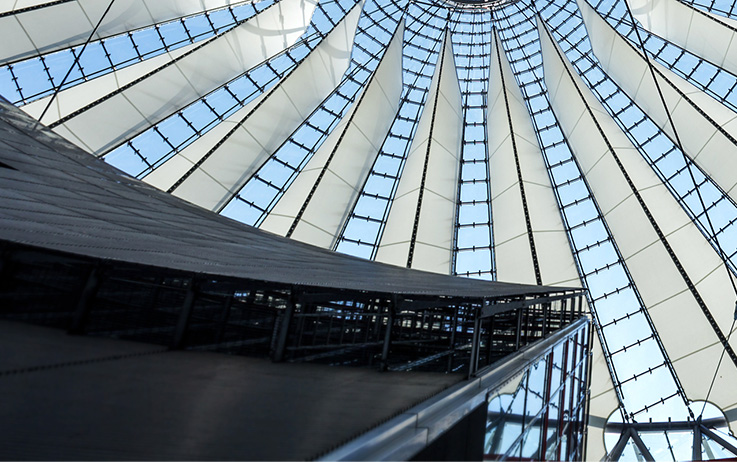 Bild Sony Center Dach