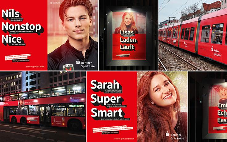 Junge Kunden Kampagne 2020 Fuer Die Berliner Sparkasse